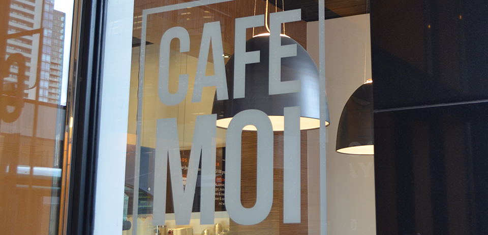 WELCOME TO CAFE MOI